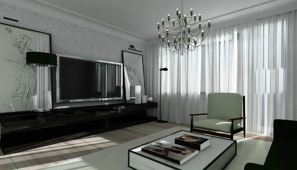Как на 50 метрах создать парижский шик: двухкомнатная квартира в Москве