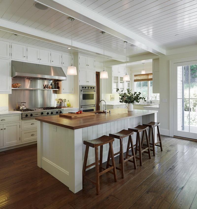 Кухня/столовая в  цветах:   Белый, Светло-серый, Серый, Темно-коричневый.  Кухня/столовая в  стиле:   Скандинавский.