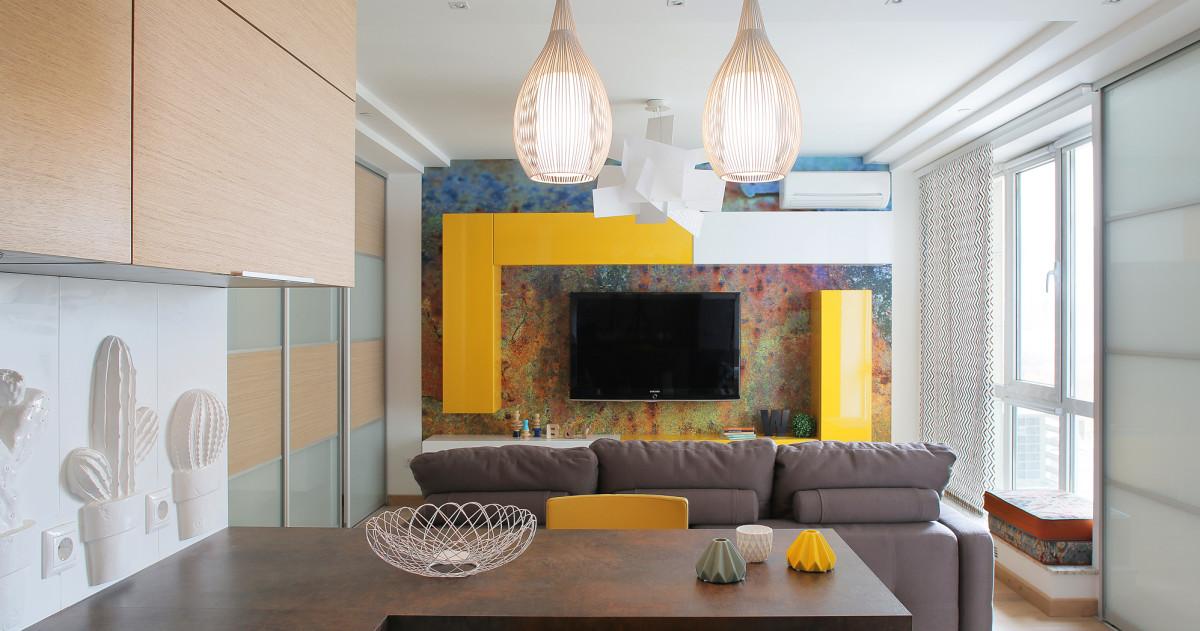 Ремонт за 4 месяца: квартира 45 метров с видом на Москва-Сити