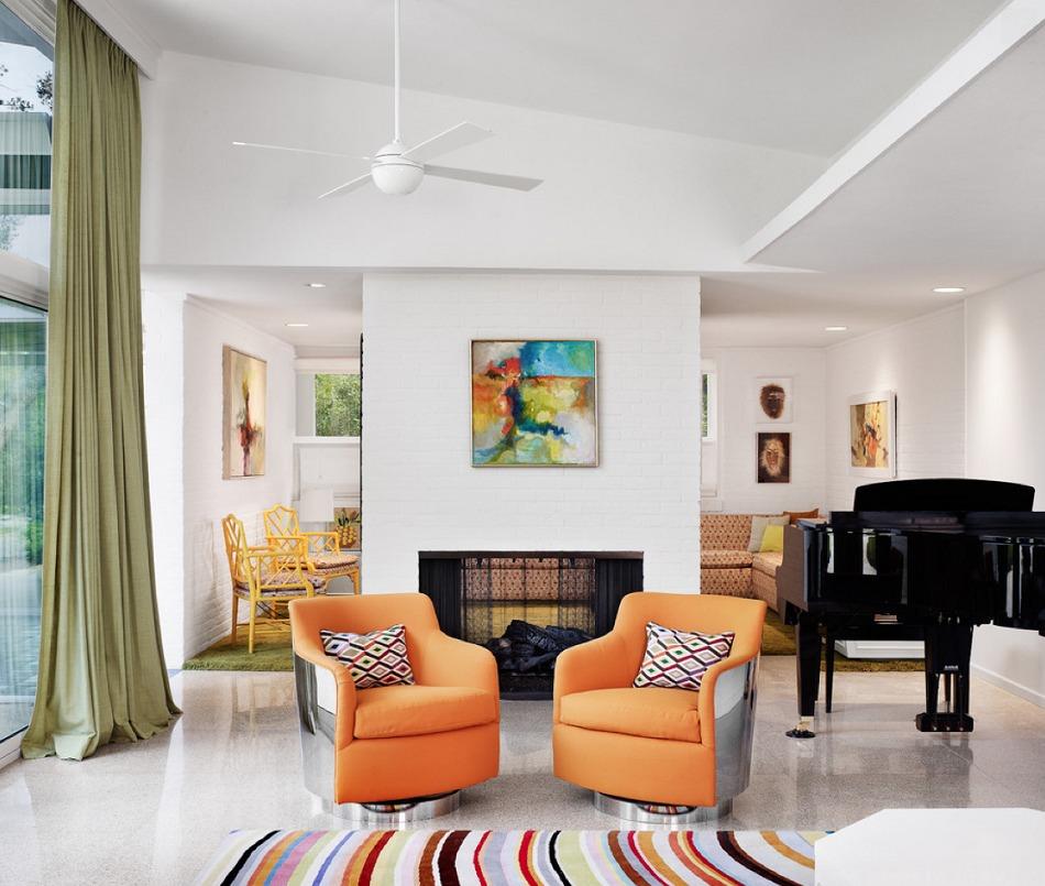 Гостиная в  цветах:   Бежевый, Белый, Светло-серый, Черный.  Гостиная в  стиле:   Эклектика.