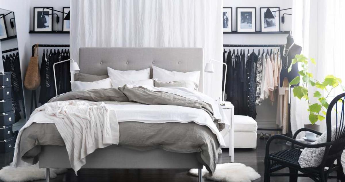 Как организовать хранение вещей в маленькой спальне: 12 дельных советов