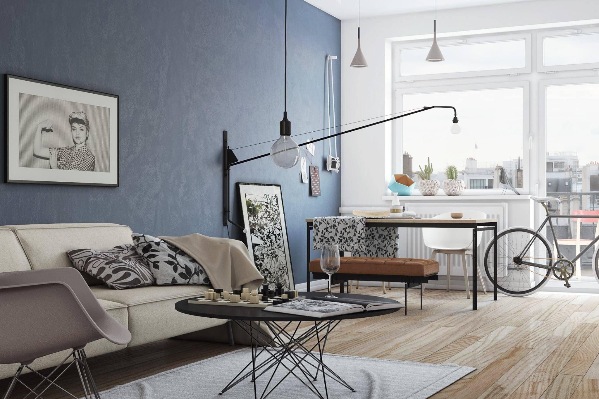 15 идей для маленькой гостиной Roomblecom
