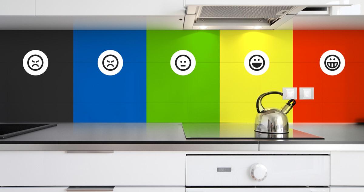 7 оттенков для кухонь: как выбор цвета влияет на аппетит