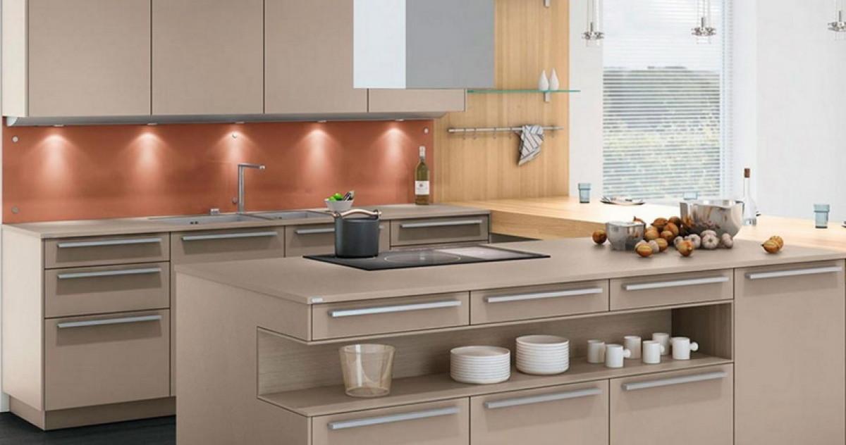 5 самых модных цветов кухни в стиле минимализм