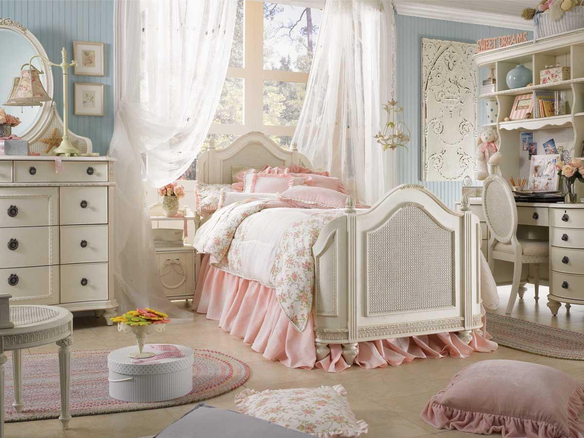 11 восхитительных романтичных спален в стиле шебби-шик