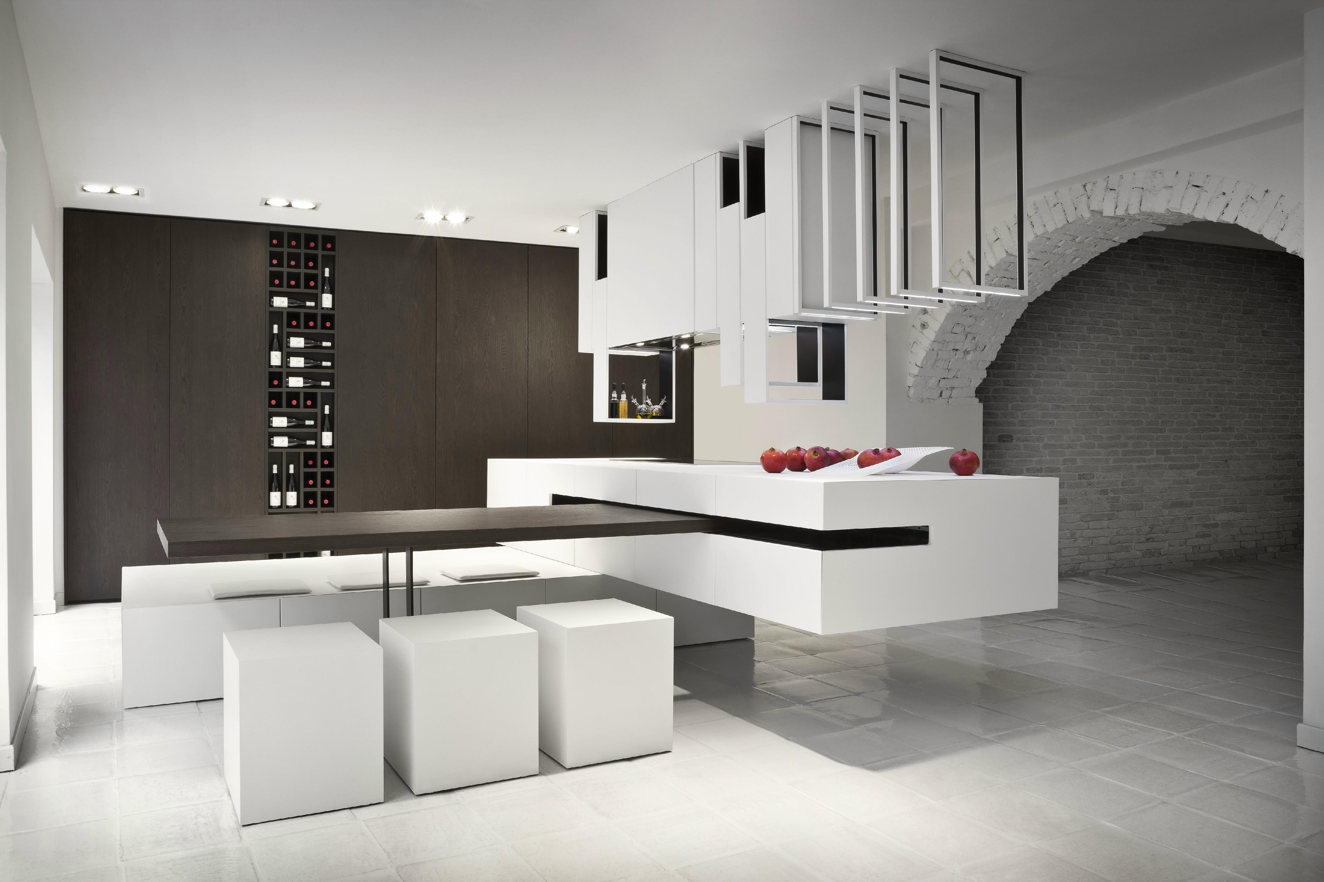 18 - Cucine moderne bianche e nere ...
