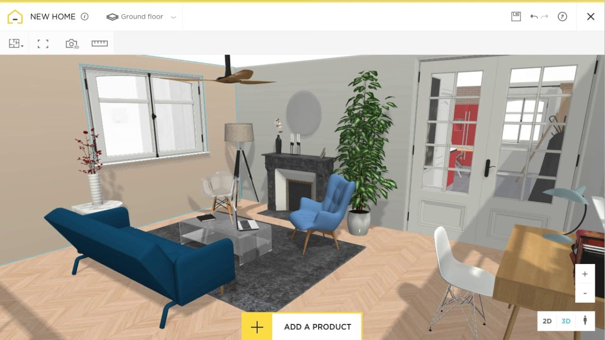 10 for Build a 3d room online free