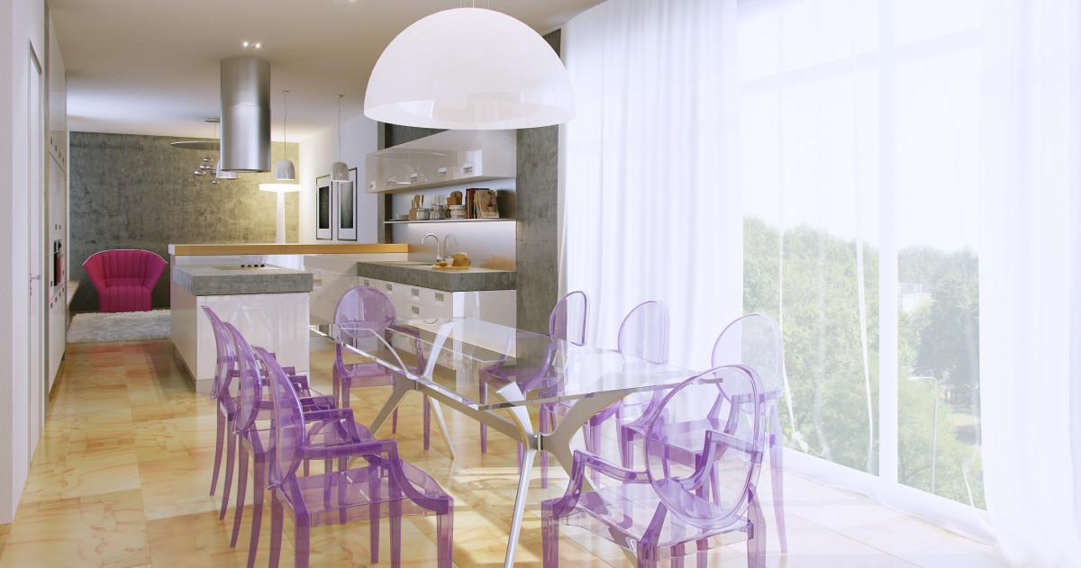 Итальянский минимализм: двухэтажная квартира мечты в Риге