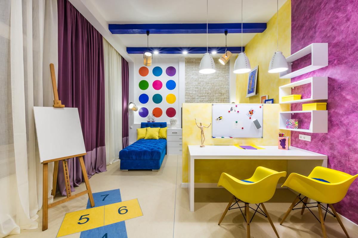 Как правильно зонировать детскую для двух детей: разбираемся с дизайнером