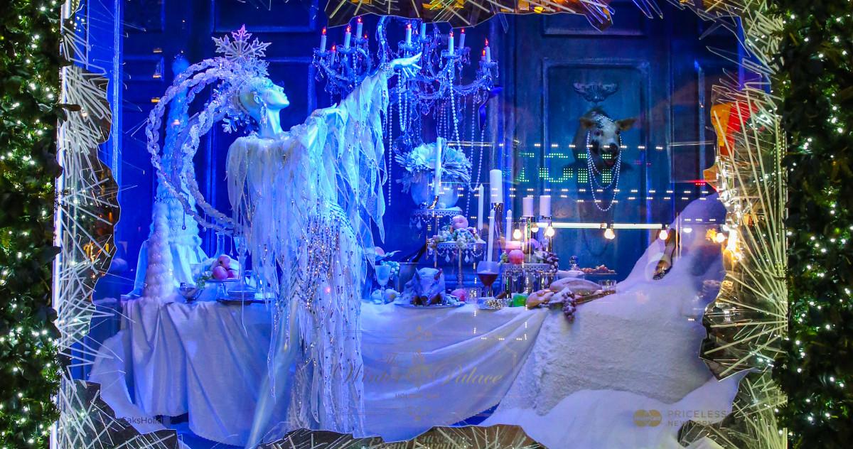 Новогодний декор: самые красивые рождественские витрины Нью-Йорка