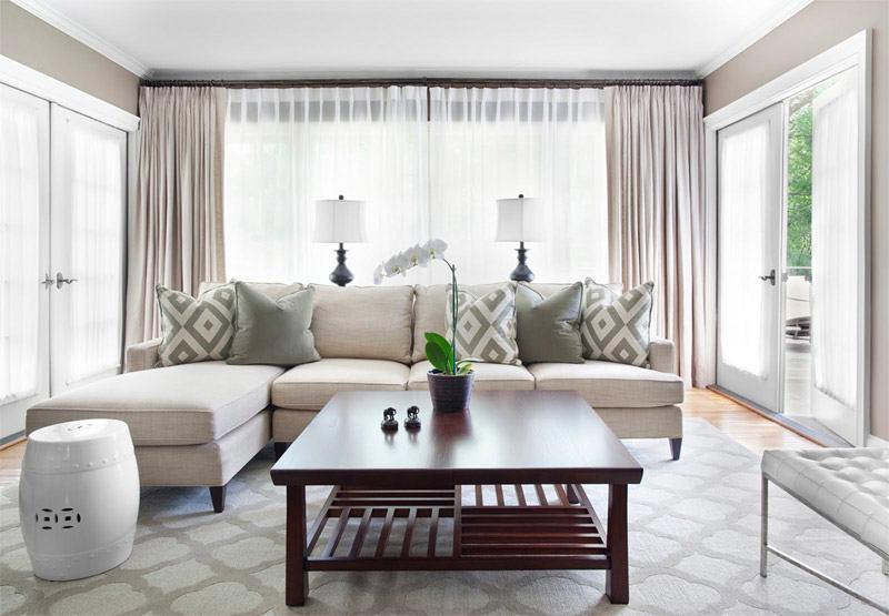 Гостиная, холл в цветах: серый, белый, салатовый, темно-коричневый. Гостиная, холл в стиле минимализм.