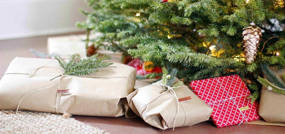 Упаковать подарки на новый год