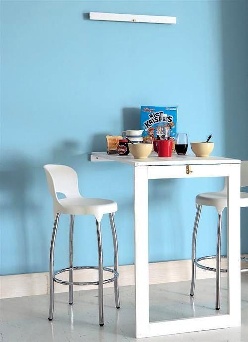 Кухня в цветах: голубой, бирюзовый, светло-серый, белый. Кухня в .
