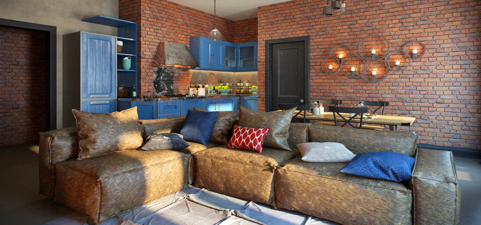 Как превратить квартиру в уютный лофт: пример из Москвы