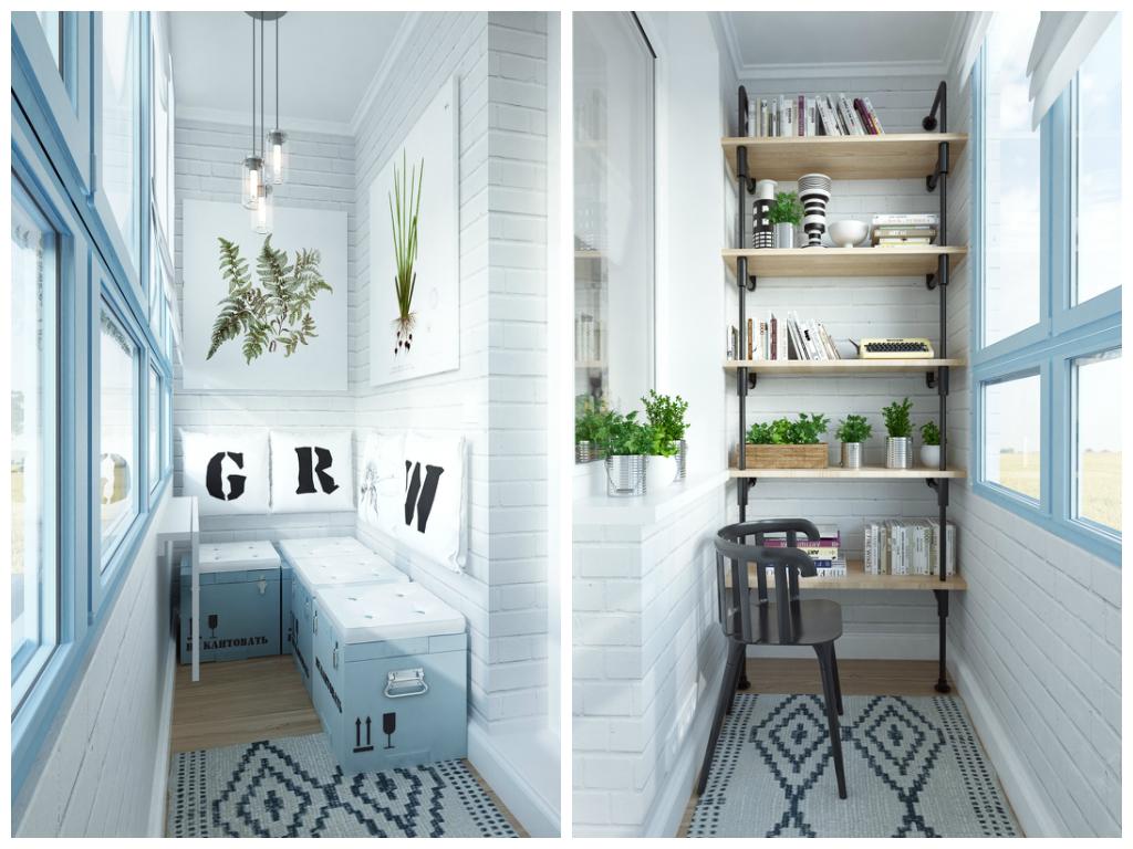 Как превратить балкон в зону отдыха :: загородный дом :: иде.