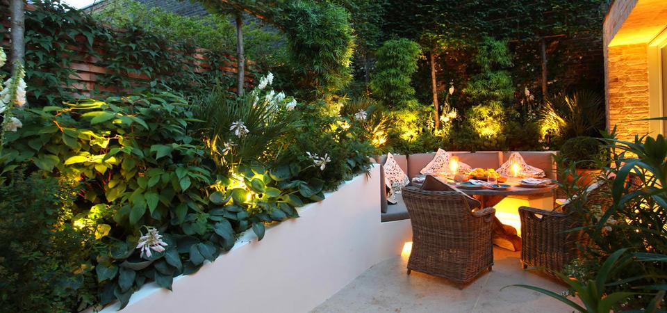 20 простых и эффектных идей по освещению сада: правила светодизайна