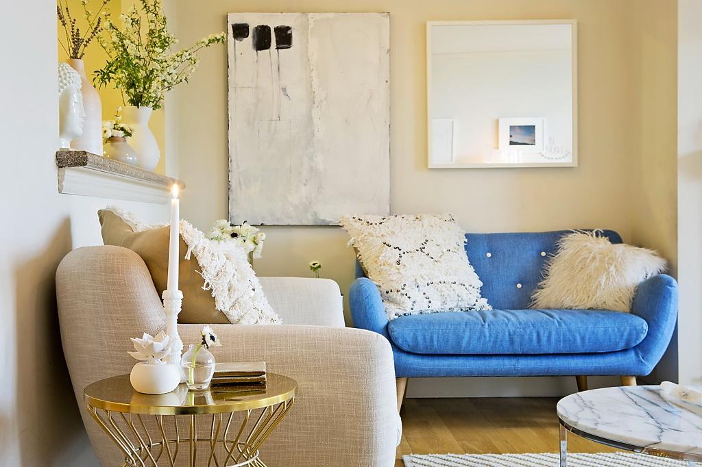 Гостиная, холл в цветах: бирюзовый, бежевый. Гостиная, холл в стиле средиземноморский стиль.