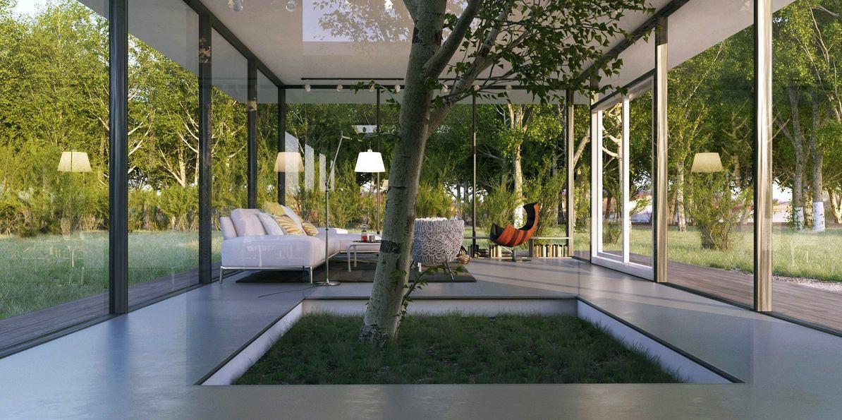Гостиная, холл в цветах: серый, белый. Гостиная, холл в стилях: минимализм.