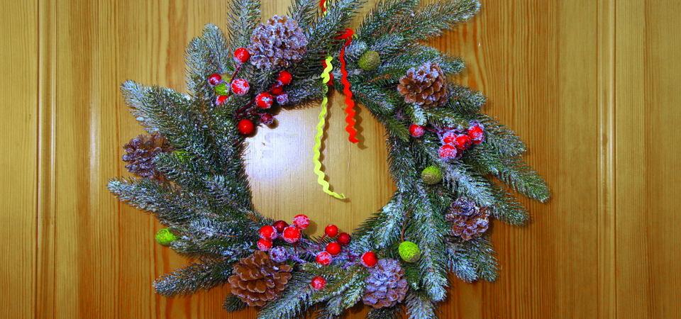 Рождественский венок своими руками: мастер-класс от дизайнера Майи Смирновой