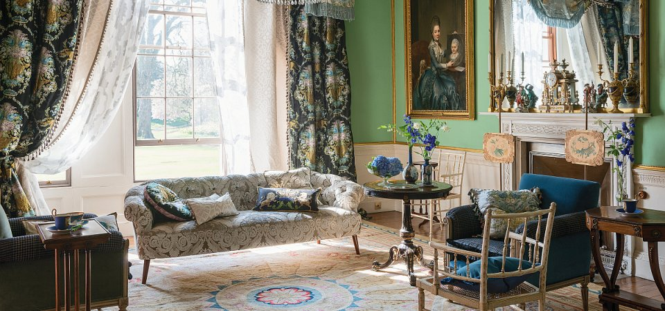 То, что сделает дом по-королевски роскошным: ткани от Designers Guild