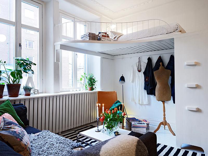 Гостиная, холл в цветах: голубой, черный, серый, светло-серый. Гостиная, холл в стиле скандинавский стиль.