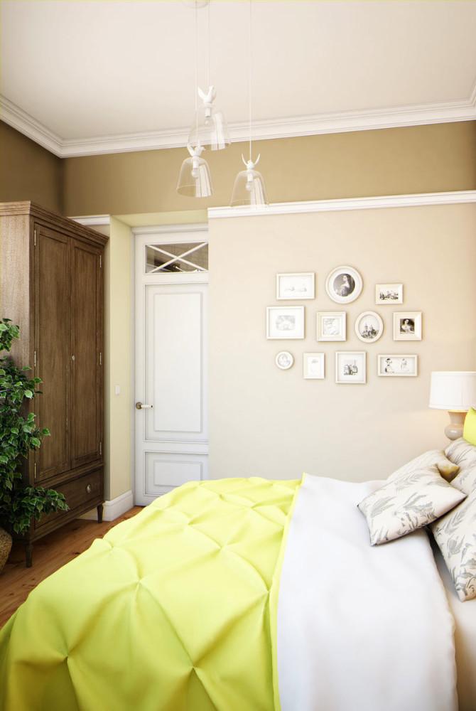 Мебель и предметы интерьера в цветах: светло-серый, белый, темно-зеленый, коричневый. Мебель и предметы интерьера в стиле эклектика.