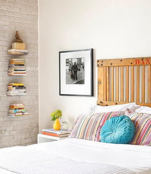 Спальня в цветах: желтый, серый, светло-серый, белый, бежевый. Спальня в стиле скандинавский стиль.