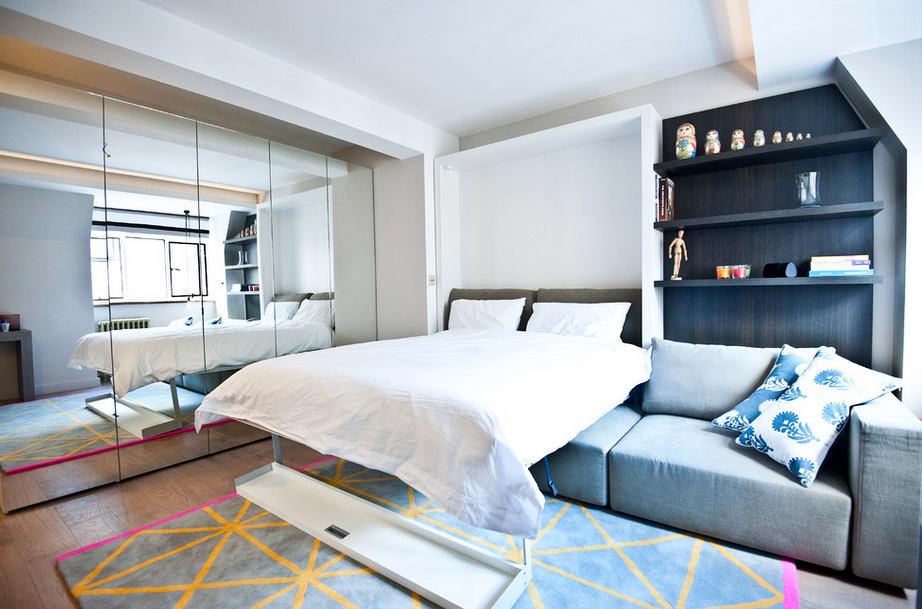 Гостиная, холл в цветах: бирюзовый, черный, серый, светло-серый, белый. Гостиная, холл в стиле минимализм.