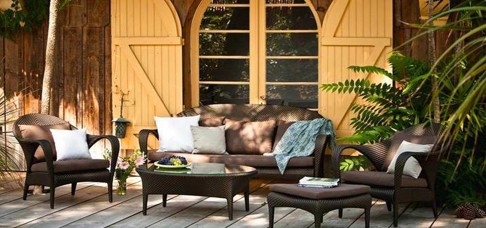 10 лучших коллекций мебели для открытого воздуха