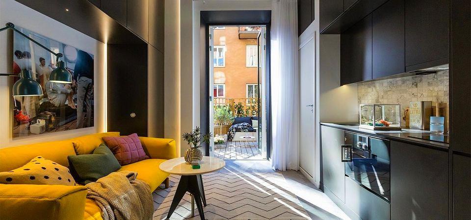 10 самых крутых маленьких квартир, опубликованных в 2014 году