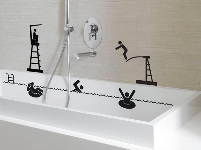 Туалет в цветах: черный, серый, белый. Туалет в стиле минимализм.
