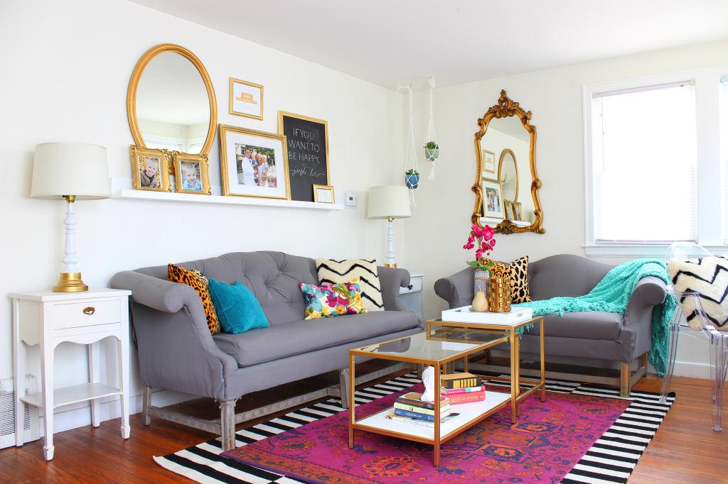 Гостиная, холл в цветах: серый, светло-серый, коричневый, бежевый. Гостиная, холл в стиле эклектика.