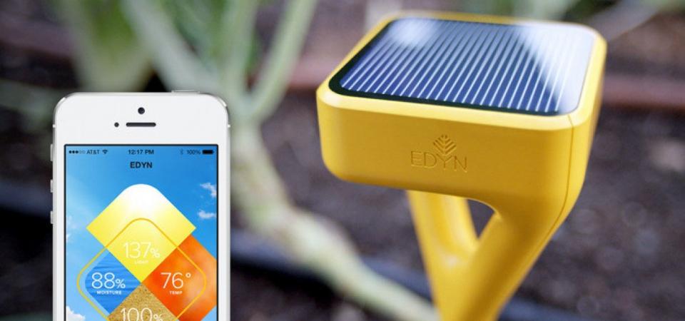 Лейка на солнечных батарейках: «умная» система ухода за садом Edyn