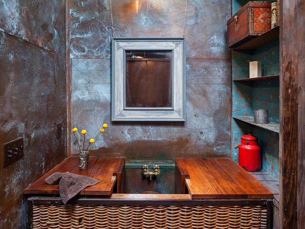 Мебель и предметы интерьера в цветах: серый, светло-серый, темно-коричневый, коричневый, бежевый. Мебель и предметы интерьера в стилях: лофт.
