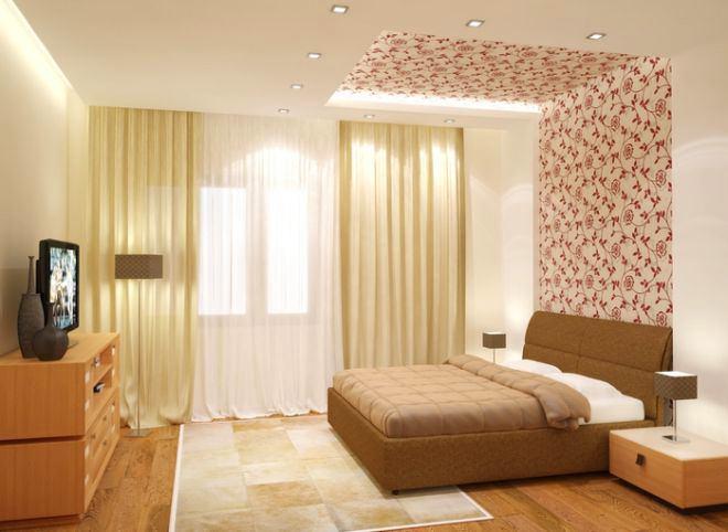 Спальня в цветах: желтый, светло-серый, белый, коричневый, бежевый. Спальня в стилях: классика.