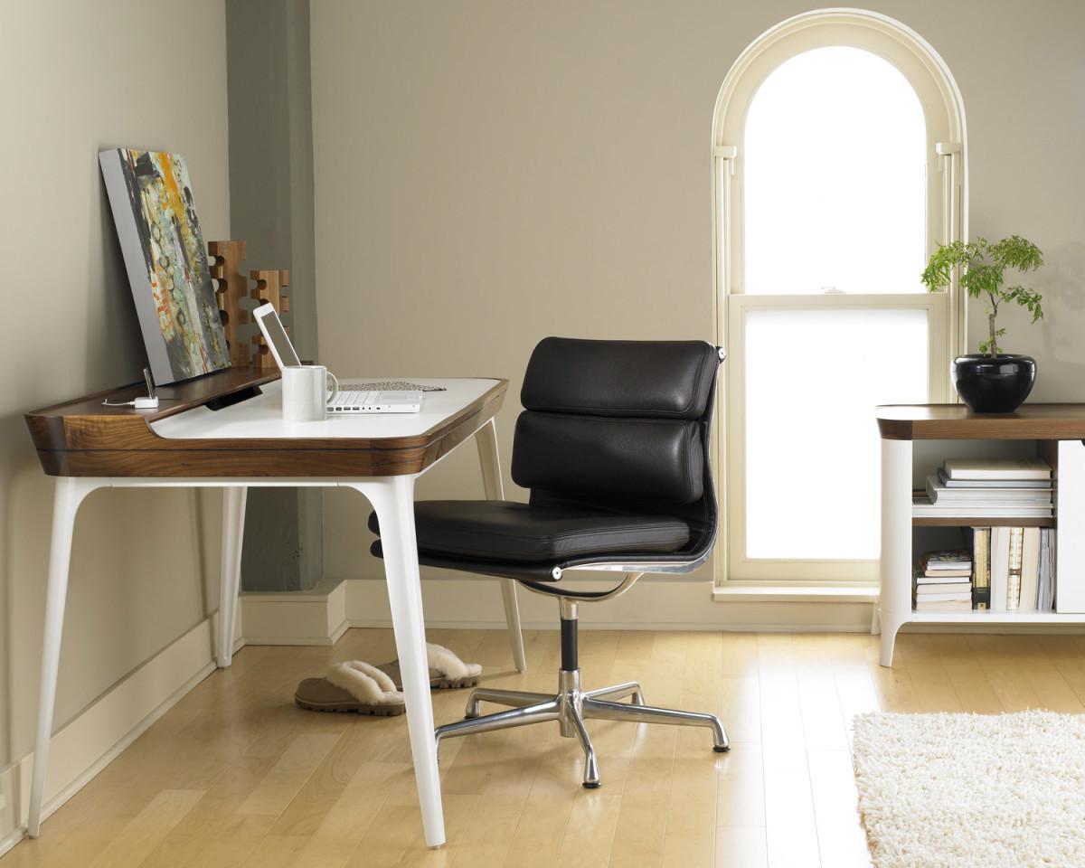 Офис в цветах: серый, светло-серый, белый, бежевый. Офис в .