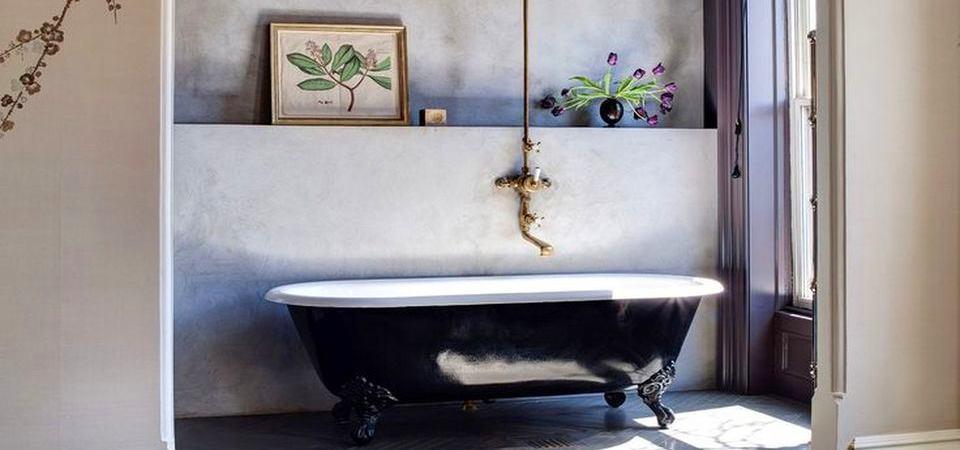 15 восхитительных ванных комнат из Pinterest известного журналиста
