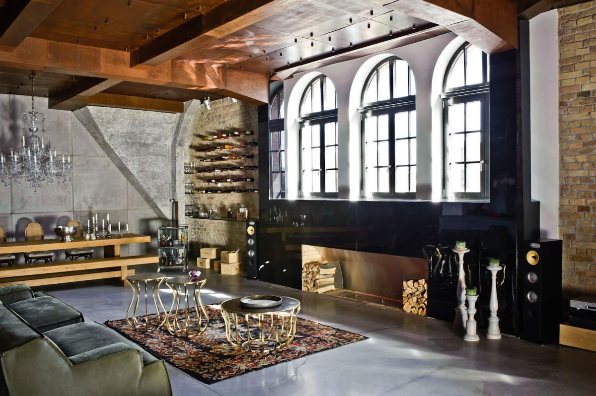 Гостиная, холл в цветах: серый, светло-серый, темно-коричневый, коричневый. Гостиная, холл в стиле эклектика.