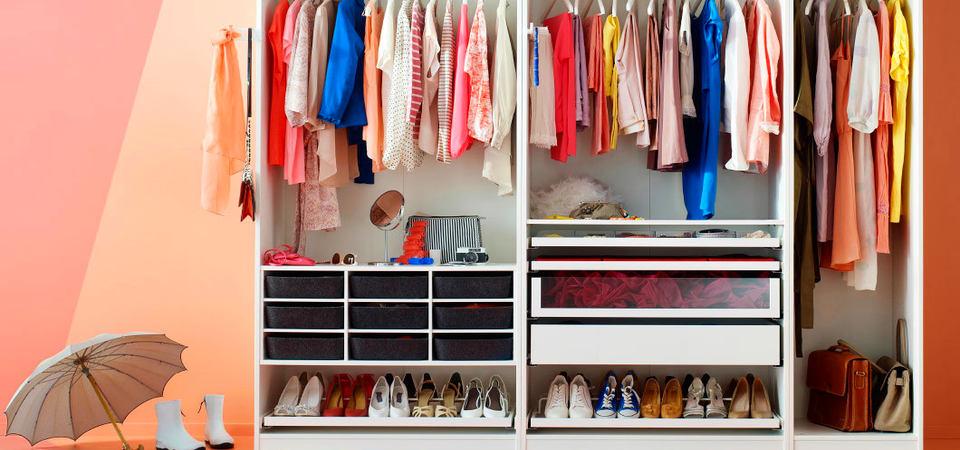 Наполнение шкафов: фотографии, советы, идеи