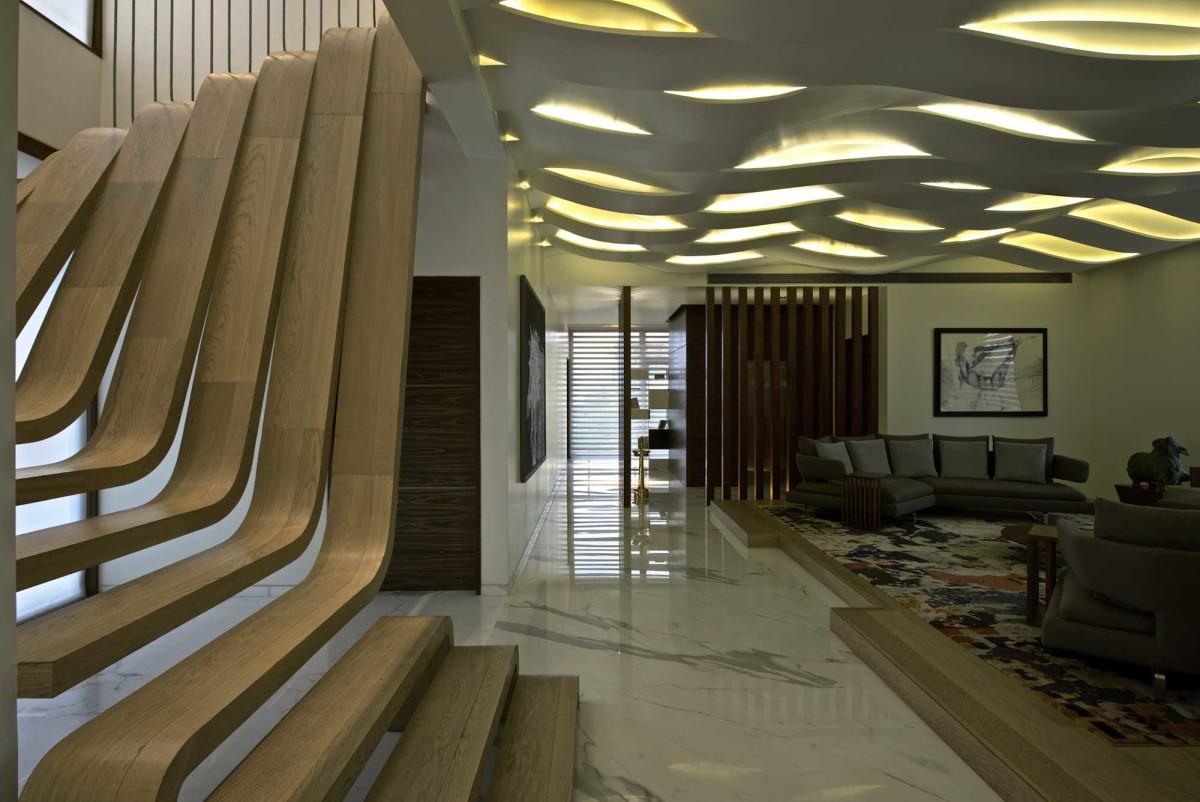 Гостиная, холл в цветах: черный, серый, светло-серый, темно-зеленый, бежевый. Гостиная, холл в стилях: модерн и ар-нуво, хай-тек, этника.