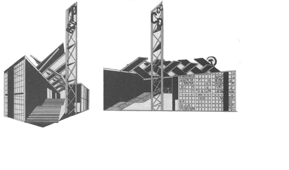 Архитектура в цветах: серый, светло-серый. Архитектура в стиле неоклассика.