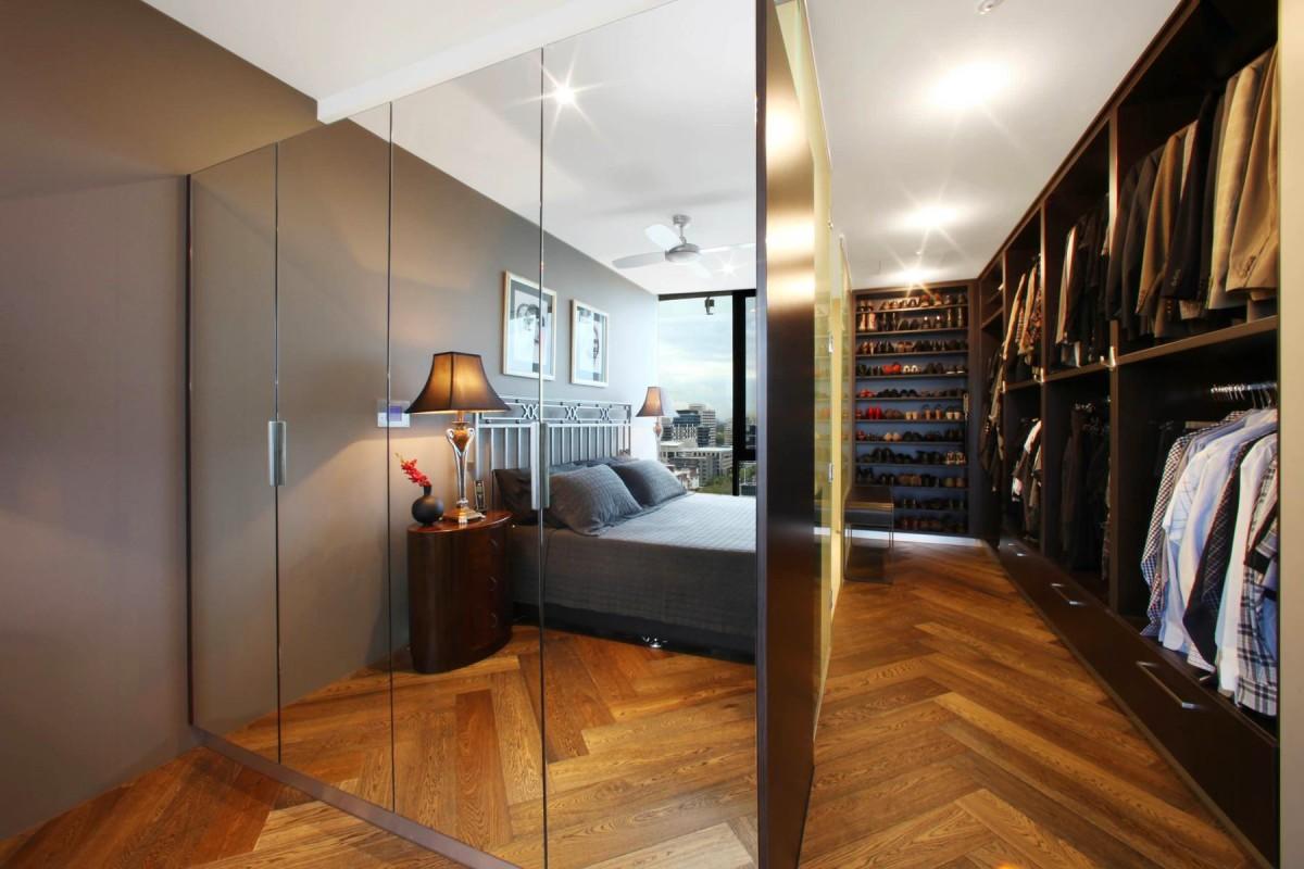Вдохновение для гардеробной комнаты.