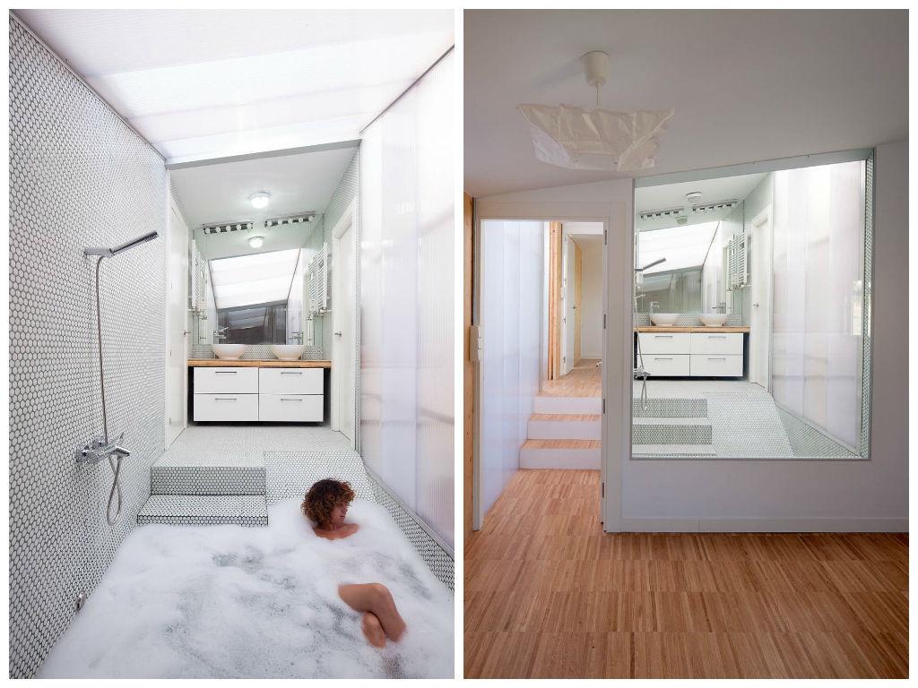 Туалет в цветах: серый, светло-серый, коричневый, бежевый. Туалет в стиле минимализм.