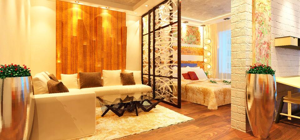 Как сделать, чтобы квартира казалась больше: двушка с зеркальной стеной