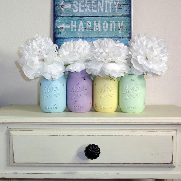Декор в цветах: бирюзовый, серый, светло-серый, белый, салатовый. Декор в .