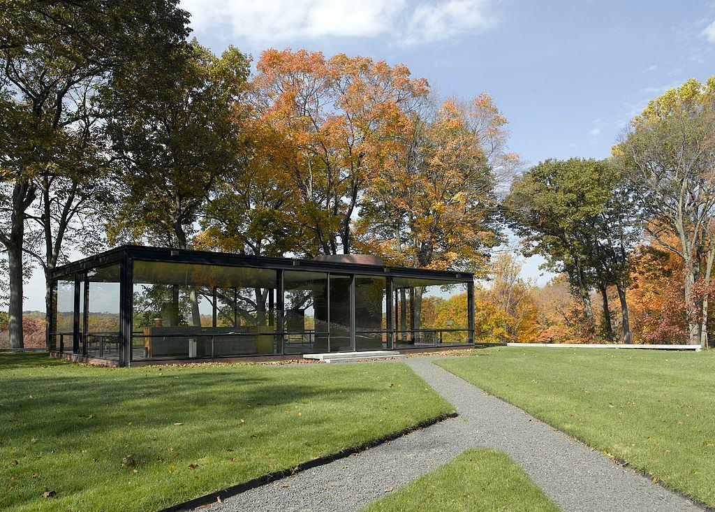 Архитектура в цветах: черный, серый, светло-серый, темно-зеленый, бежевый. Архитектура в стиле минимализм.