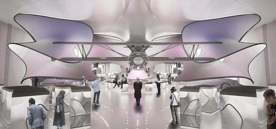 Фантастический проект от Захи Хадид для Лондонского музея наук