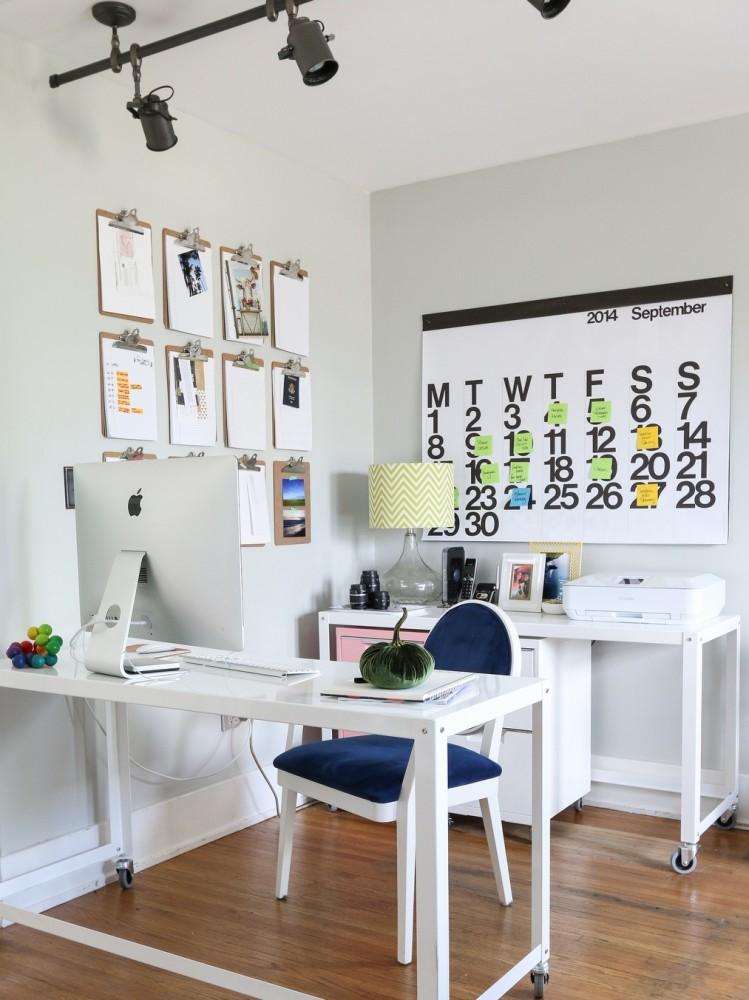 15 идей для создания собственного календаря в интерьере