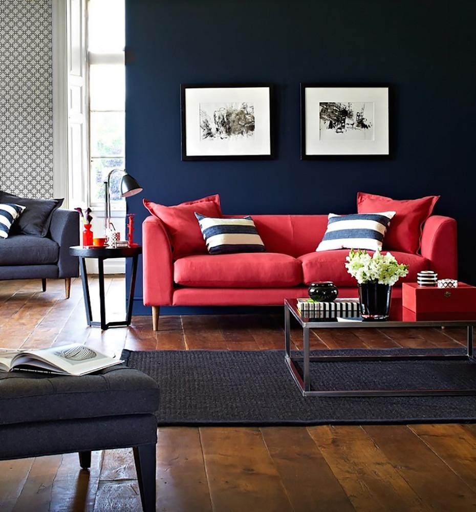 Как применить в интерьере один из главных цветов года —«фиесту»