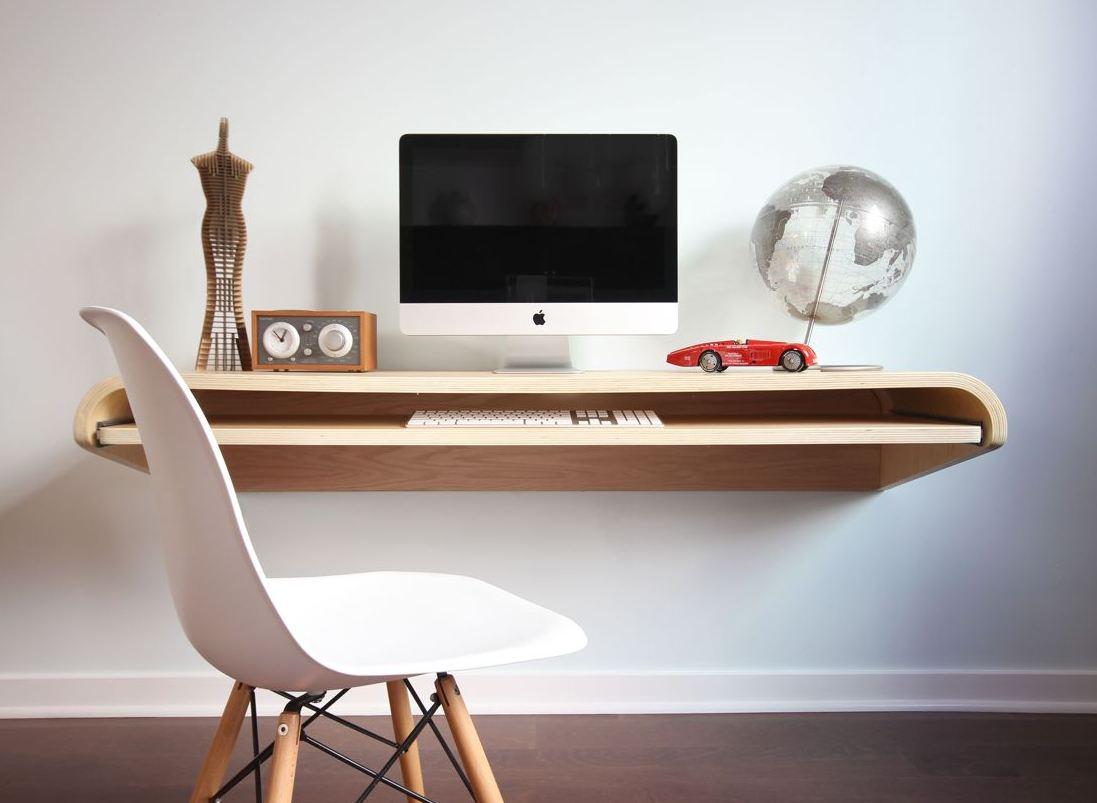 Как организовать рабочее место дома так, чтобы было и удобно и красиво